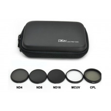 Комплект фильтров для DJI INSPIRE1/OSMO X3 (ND4+ND8+ND16+CPL+MCUV) + кейс